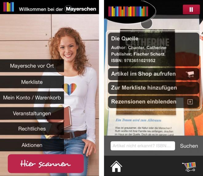 mayersche_screenshot
