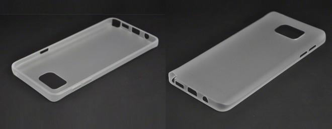 In diese Hülle soll angeblich das kommende Galaxy Note 5 reinpassen.