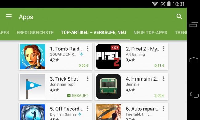 Google hat im Play Store für 18 Länder die Mindestpreise für Apps und In-App-Käufe gesenkt – meist auf etwa 0,25 Euro.