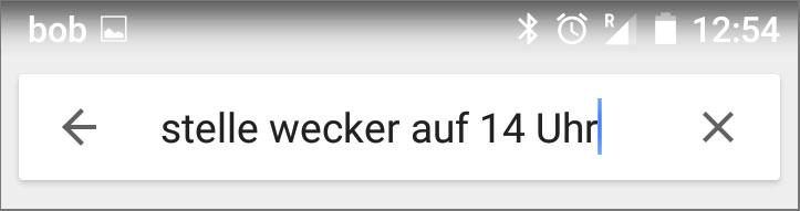 Google wecker