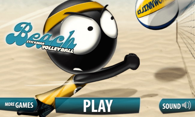 Stickman Volleyball - Titelbild