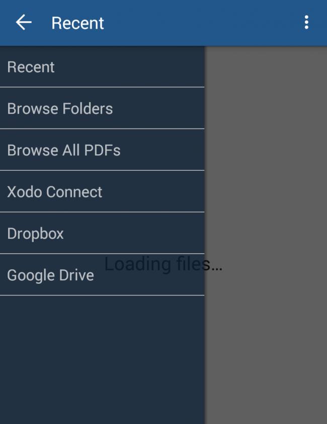 Wenn Sie eine PDF-Datei direkt aus einem der Cloud-Speicher öffnen und bearbeiten, dann synchronisiert Xodo die veränderte Datei anschließend automatisch mit dem jeweiligen Cloud-Speicher.