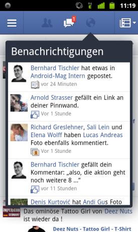 Facebook App 1.8 3