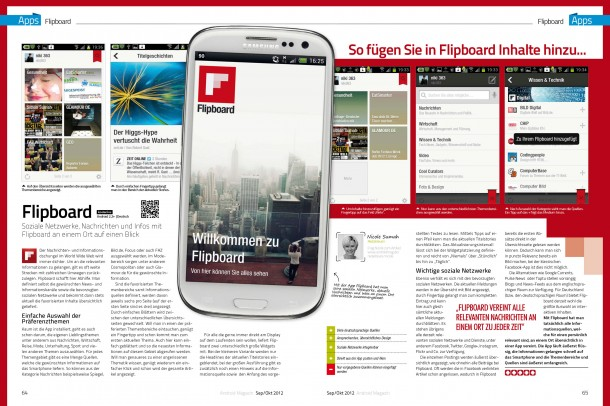 Android Magazin 8 - Flipboard