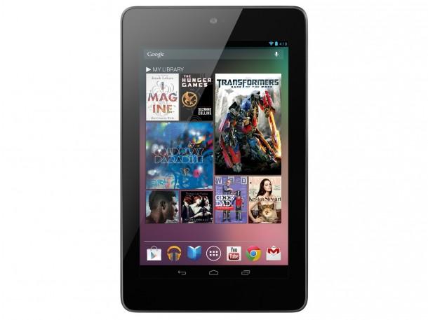 Das Nexus 7 Tablet ist ab sofort auch in Deutschland erhältlich. Foto: Google.