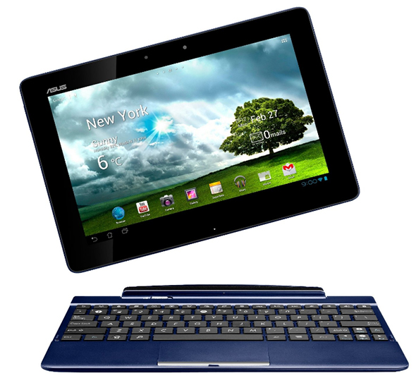 Das Asus EeePad TF300T alias Transformer Pad. Foto: Amazon.de