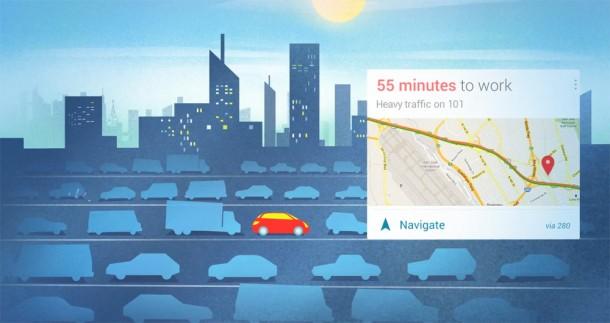 Auch Verkehrsdaten wie Stau und sonstige Verzögerungen werden erfasst. Foto: Youtube.com.