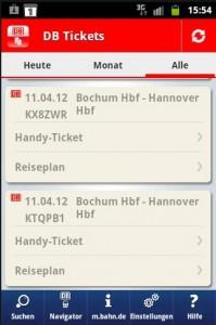 Handytickets lassen sich schnell und direkt aus der App haraus lösen.