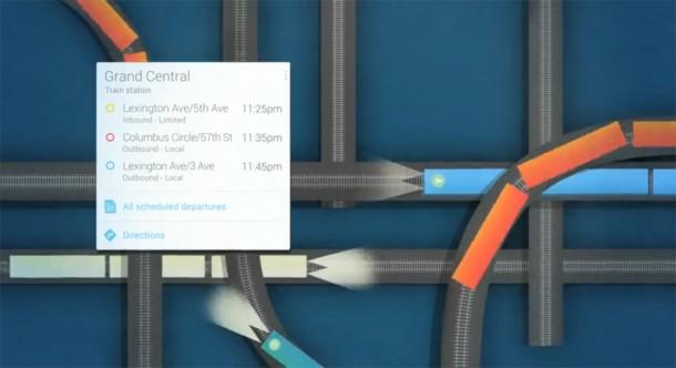 Google Now blendet wichtige Informationen zur richtigen Zeit ein. Foto: youtube.com.