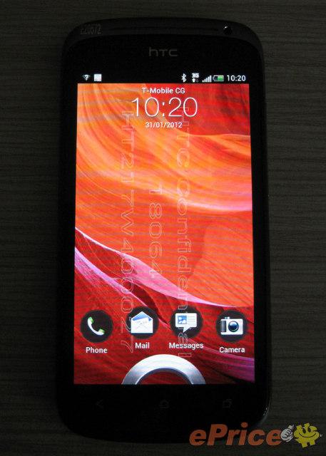 HTC Ville Frontansicht (Foto: ePrice)