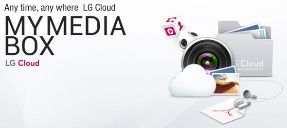 LG Cloud. Quelle: LG