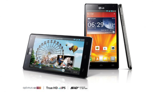 Das LG Optimus 4x HD ist das aktuelle Quad Core Smartphone von LG. Foto: LG
