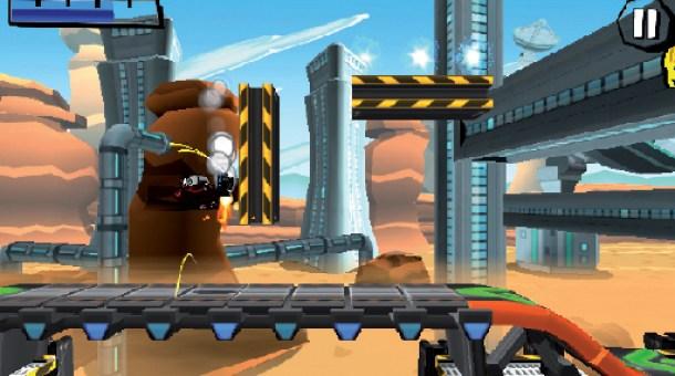 n Jump&Run Manier schlägt sich Roboto durch technoide Levels um seine Liebe zu finden.