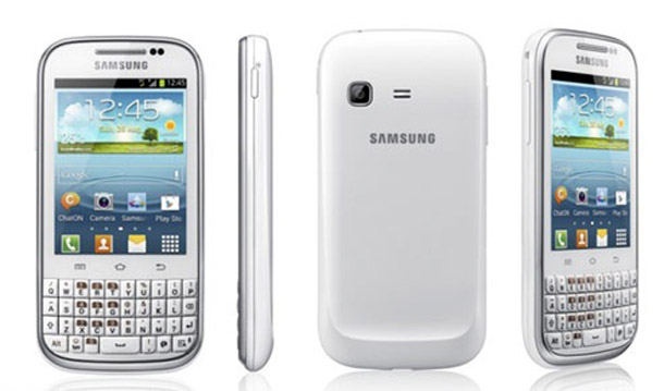 Das Samsung Galaxy Chat wird mit Android 4.0 alias Ice Cream Sandwich und Hardwaretastatur auf den Markt kommen. Foto: androidadvices.com.