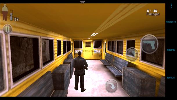 Die Optik ist schon etwas angestaubt, auf mobilen Geräten macht Max Payne dennoch eine gute Figur.