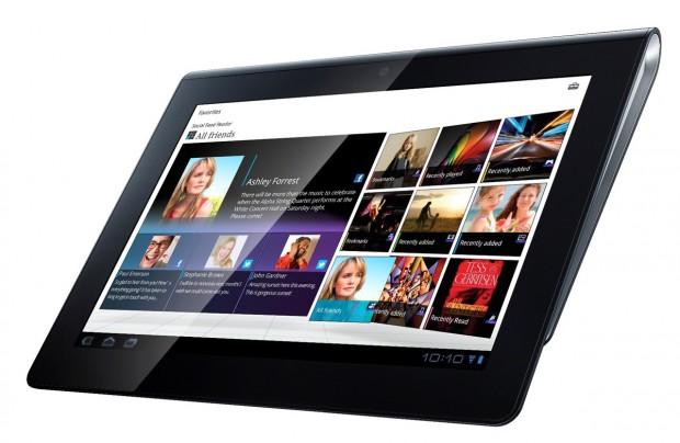 Das Sony Tablet S und das Sony Tablet P bekommen ein Update auf die neueste Android 4.0 Ice Cream Sandwich version. Foto: Sony.
