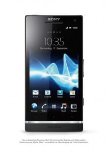 Sony Xperia S - Aktuelles Android Smartphone von Sony