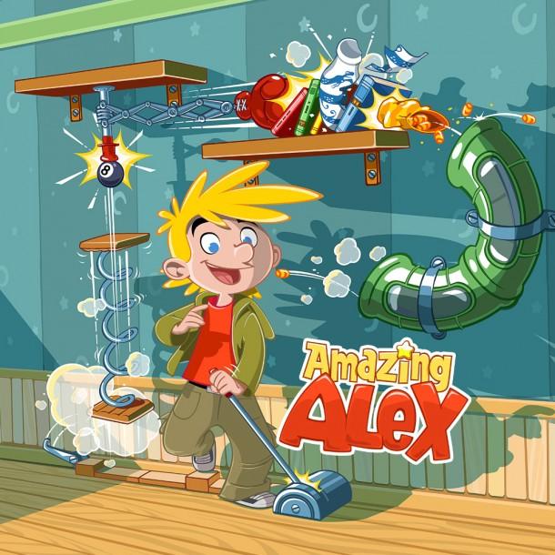 Mit Amazing Alex will Rovio an den Erfolg von Angry Birds anknüpfen und bringt damit ein Spiel mit sozialem Aspekt auf den Markt. Foto: taser.amazingalex.com.