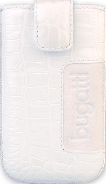 """Angefertigt aus hochwertigem Leder, dafür auch nicht gerade billig: Die Leder-Tasche """"Cross2 für das Galaxy S2. Foto: bugatti mobilecases"""