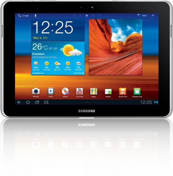 Das Galaxy Tab 10.1N unterscheidet sich hinreichend vom iPad entschied das Landgericht in Düsseldorf. (Foto: Samsung)