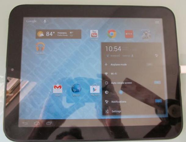Das HP Touchpad bekommt mittels CyanogenMod 10 ein Update auf Android 4.1 Jellybean. Foto: liliputing.com.