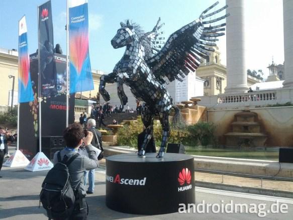 Huawei Pferd MWC