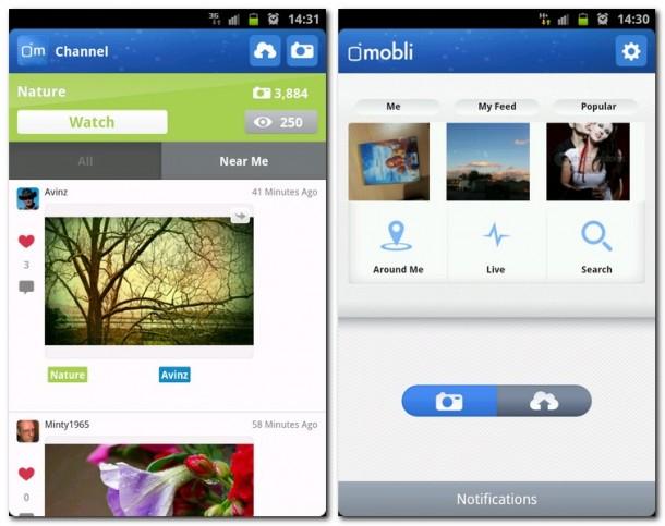 Erzähle mit Hilfe der App Mobli deine eigenen Geschichten und zeige der Welt wichtige Momente in deinem Leben.