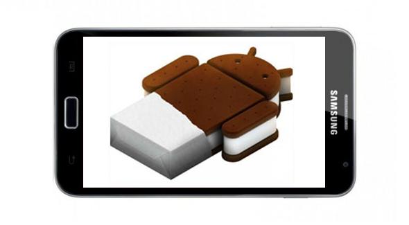 Das Samsung Galaxy Note bekommt ein Update auf Android 4.0 Ice Cream Sandwich.