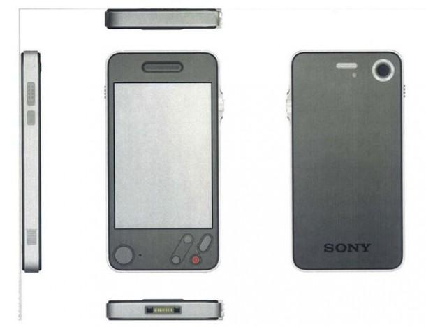 Samsung beschuldigt Apple das Design seines iPhones von Sony kopiert zu haben.  Zugegebenermaßen sieht das iPhone 4 dem Prototypen sehr ähnlich. Foto:  buzzfeed.com.