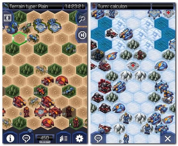 Uniwar HD ist ein rundenbasiertes Multiplayerspiel im Stil von Civilization Wars.