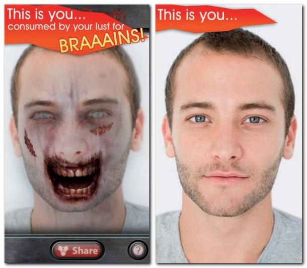 Jedes noch so freundliche Gesicht nützt nichts, denn mit dieser App ist es bald ein Fall für den Hautarzt.