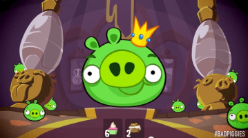Bad Piggies Feed King Pig