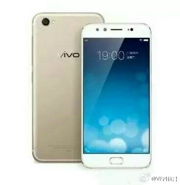 Vivo X9 leaked Render