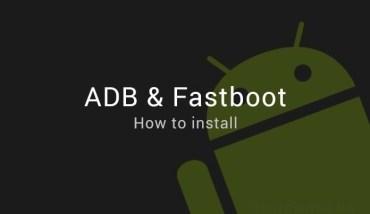 install-fastboot-adb