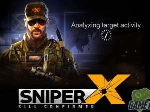 SNIPER X FEAT JASON STATHAM MOD APK 1.4.0 terbaru