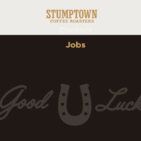 Stumptown Coffee Plus Peet's Coffee - Welcome To Peetstown