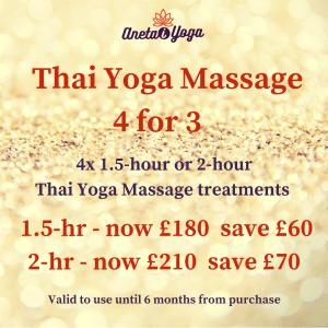 Xmas sale - Thai Massage 2hr + 1.5 hr (2)