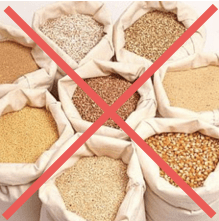 Why should you avoid grains?