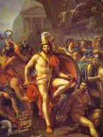 Leonidas en Termopilas,