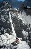 Puente en las Dolomitas