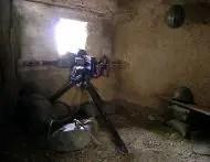 Nido de ametralladoras en los túneles de Lagazuoi
