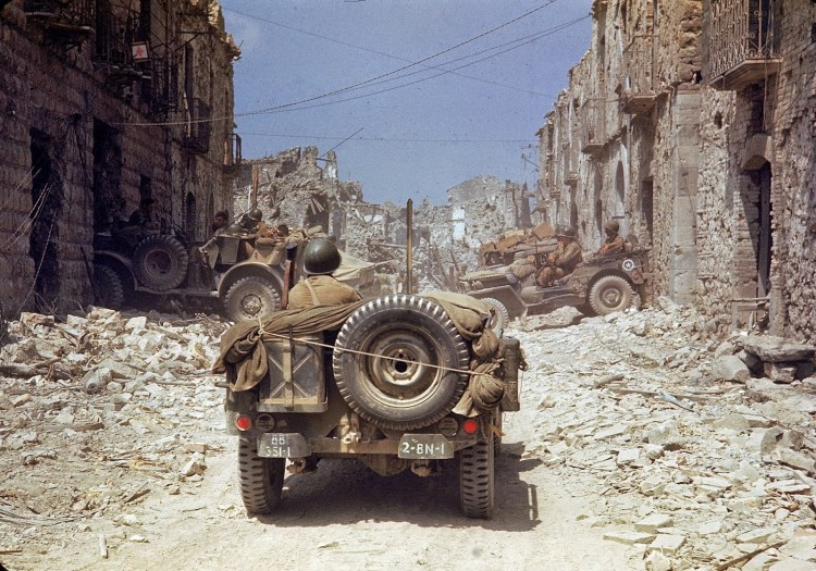 Jeeps en Italia