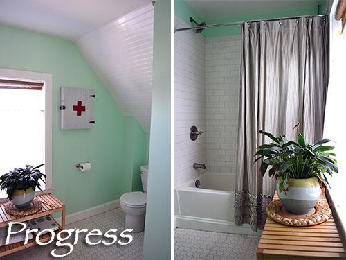 Bathroom Progress Take 7