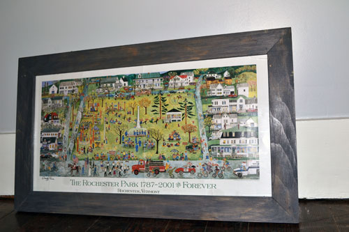 Rochester Poster In A DIY Frame