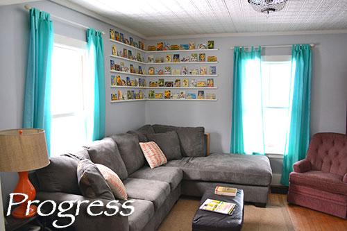 Living Room Progress Take 5