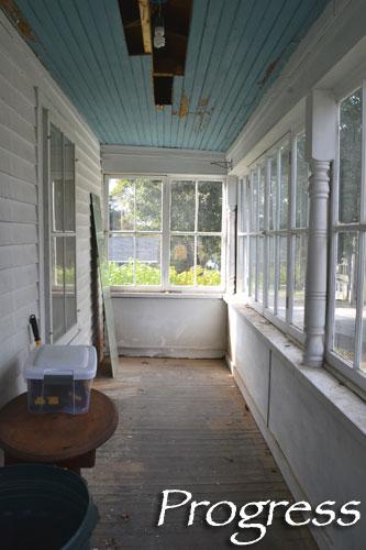 Porch Progress Take 2