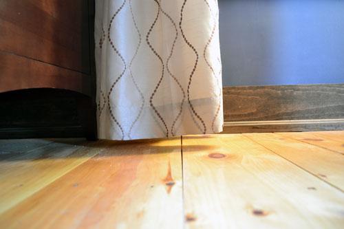 Floor Skimming Curtains