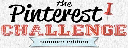 Pinterest Challenge Logo Summer 2012