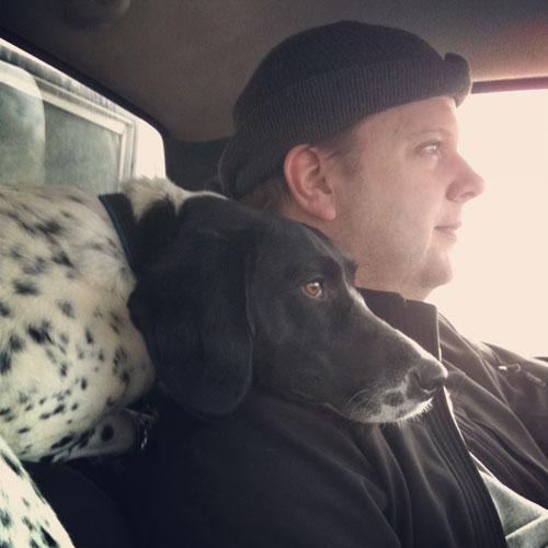 How Gooses Ride In Trucks