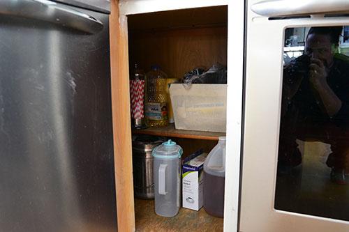 Kitchen Shelf Post Pantry Organizing